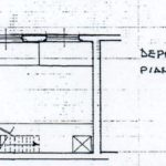 planimetria piano soppalco Via Savoia negozio